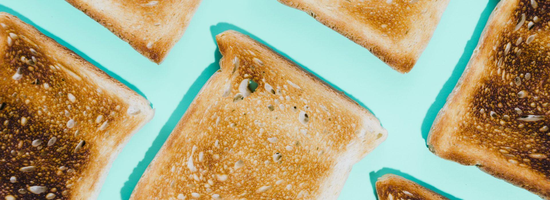 Pan de molde tostado